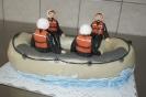 Raftingboot-Torte