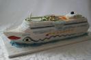Kreuzfahrtschiff-Torte